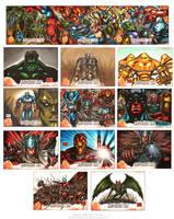 Kree Skrull War set2 by MelikeAcar