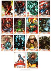 Kree Skrull War set3 by MelikeAcar