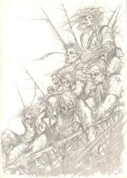 zombies pencil version