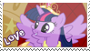 Twilight Sparkle alicorn stamp by Sirriss