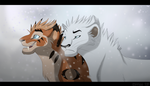 Commission: Walking in the snow
