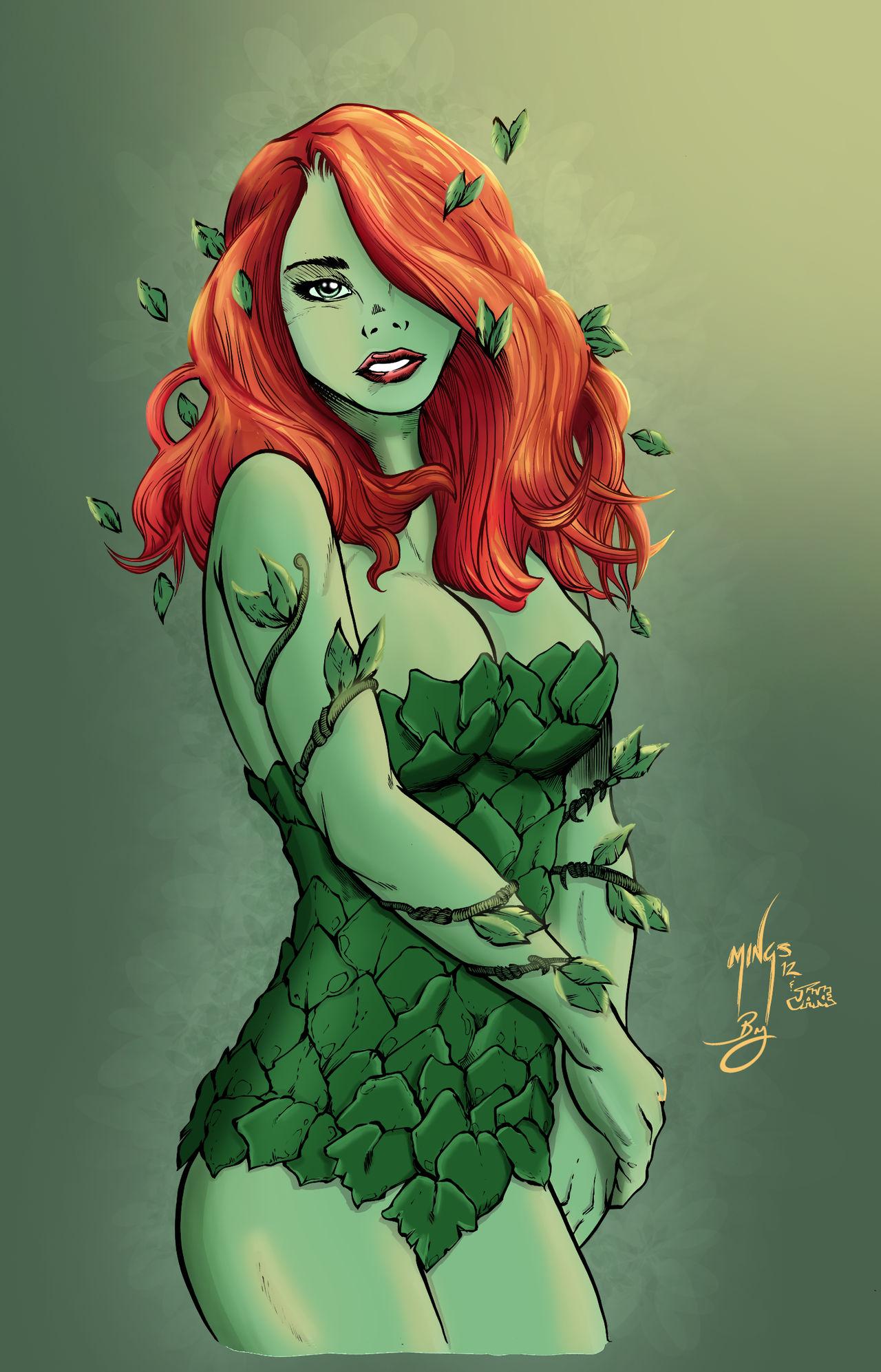 Poison Ivy by InkerGuy
