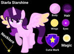 Starla Starshine Oc Reference Sheet