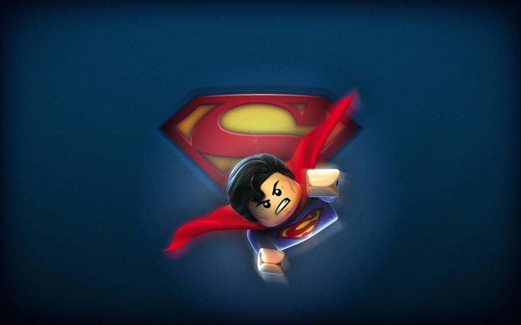 gallery for lego superman wallpaper
