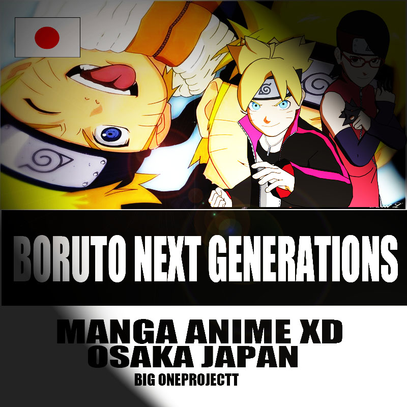Boruto Next Generations Manga Anime Japan By Bigonekovam