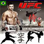 lyoto mashida japones brasil poster oficial de ufc