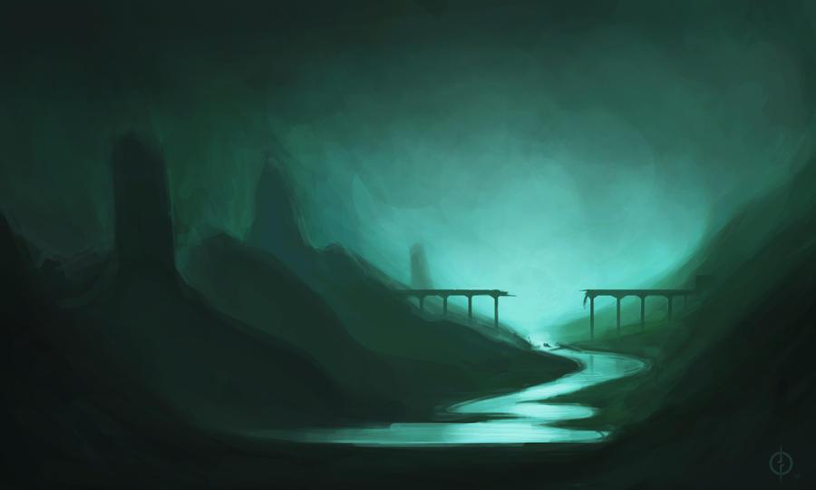Broken Bridge Speedy by Majeq