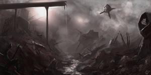 Industrial Swamp Sketch