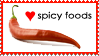 Spicy Foods by WaywardSoothsayer