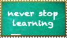 Never Stop Learning by WaywardSoothsayer