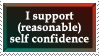 Self Confidence by WaywardSoothsayer