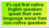 English by WaywardSoothsayer