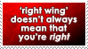 'Right Wing' by WaywardSoothsayer