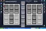 NaNoWriMo Calendar Desktop