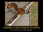 tiger squirrel demotivational