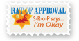 The Rat of Approval Stamp by vanilla-vanilla
