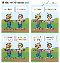 The Sniverly Brothers Do Emoji by vanilla-vanilla