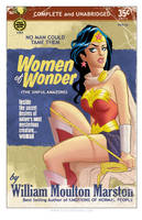 Wonder Woman Pulp by TonyFleecs