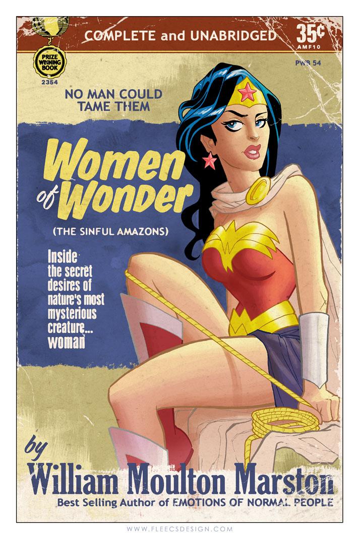 Wonder Woman Pulp by TonyFleecs