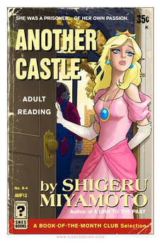 Princess Peach Pulp Cover