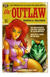 Starfire Pulp Novel Cover by TonyFleecs