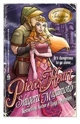 Zelda Romance Novel Cover by TonyFleecs