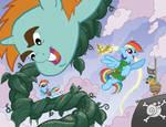 My Little Pony Micro #2 Larry's/Jetpack Variants