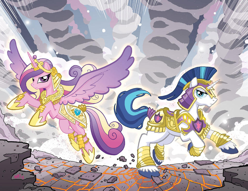 My Little Pony #6 Larry's/Jetpack Variants by TonyFleecs