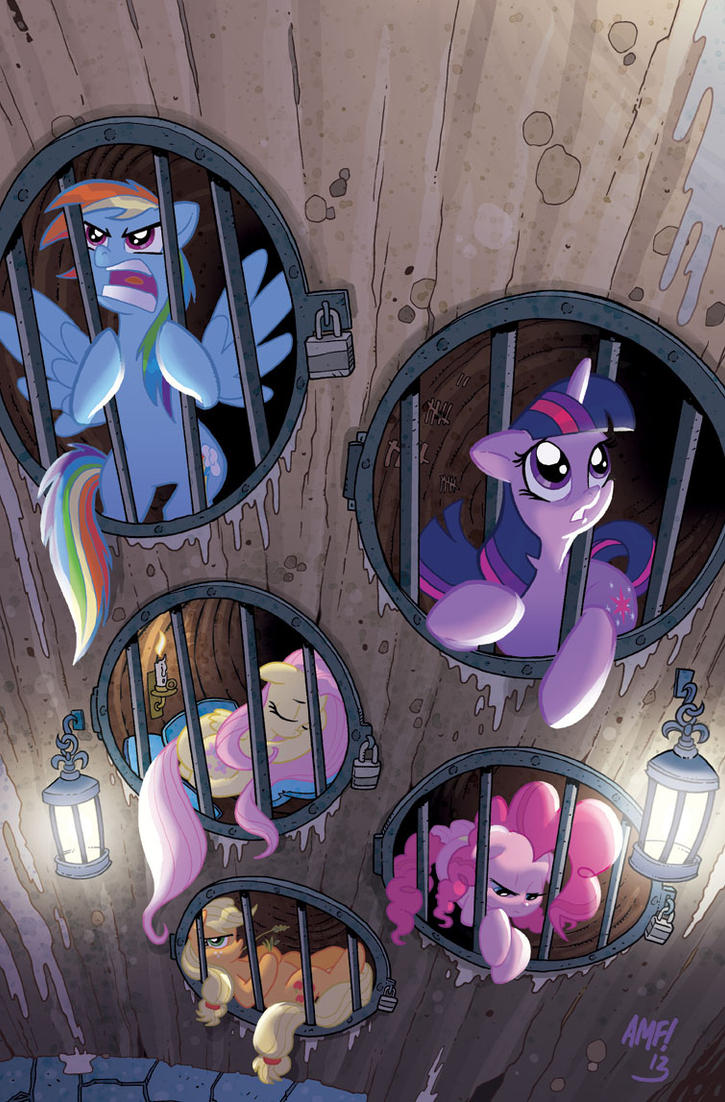 My Little Pony #7 Retailer Incentive Cover by TonyFleecs
