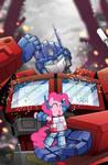 My Little Pony Micro #5 BotCon Cover