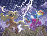 My Little Pony #8 Larry's/Jetpack Cover
