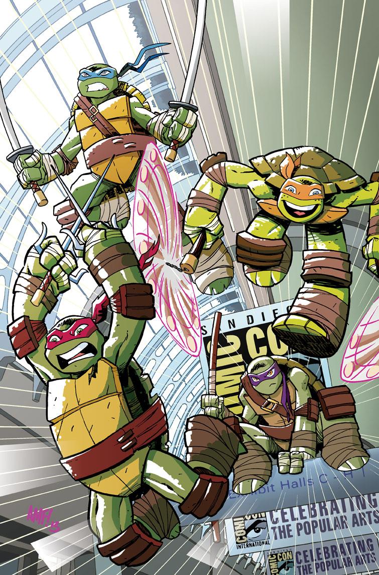 TMNT: New Animated Adventures #1 SDCC Exclusive by TonyFleecs