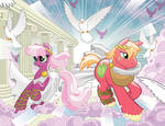 My Little Pony #9 Larry's/Jetpack Covers
