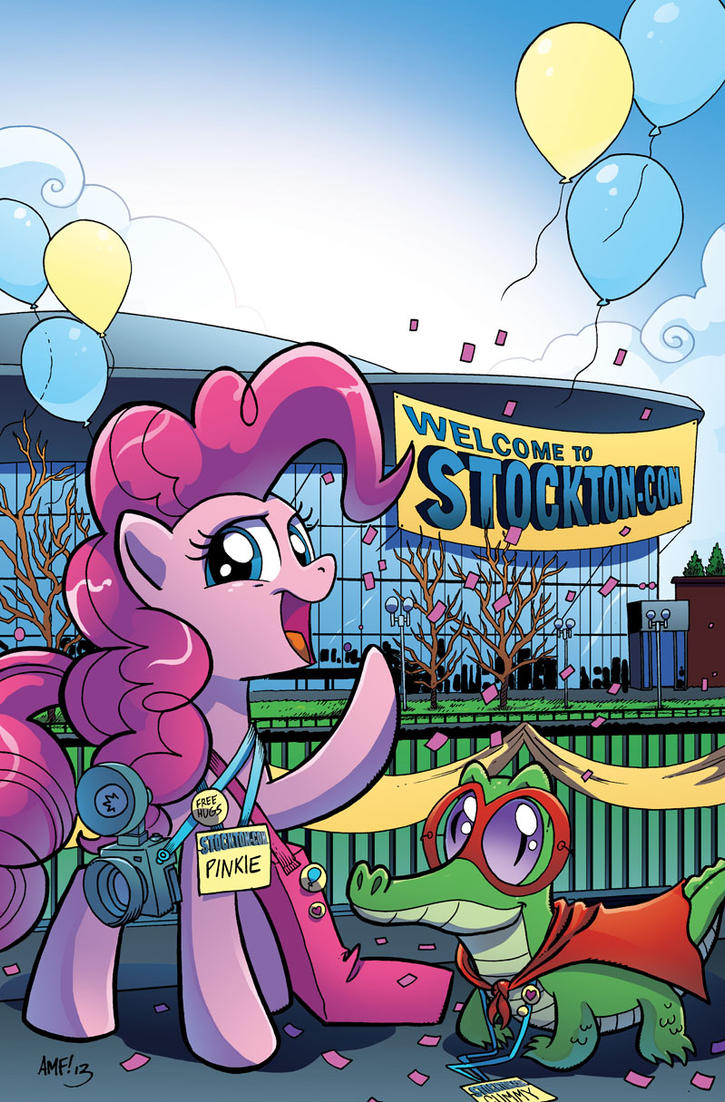 My Little Pony #9 StocktonCon Cover by TonyFleecs