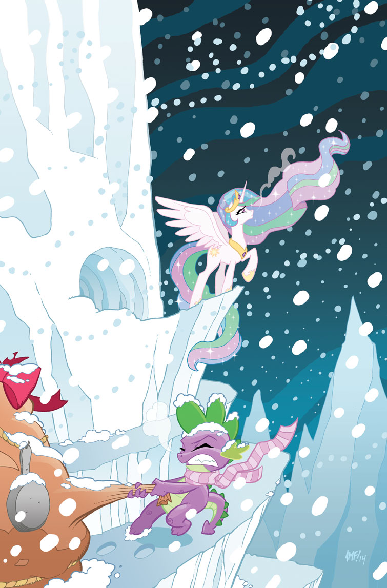 My Little Pony - Friends Forever #3 Cover by TonyFleecs