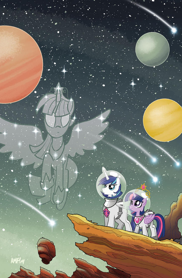MLP FriendsForever #4 Jetpack Cover by TonyFleecs