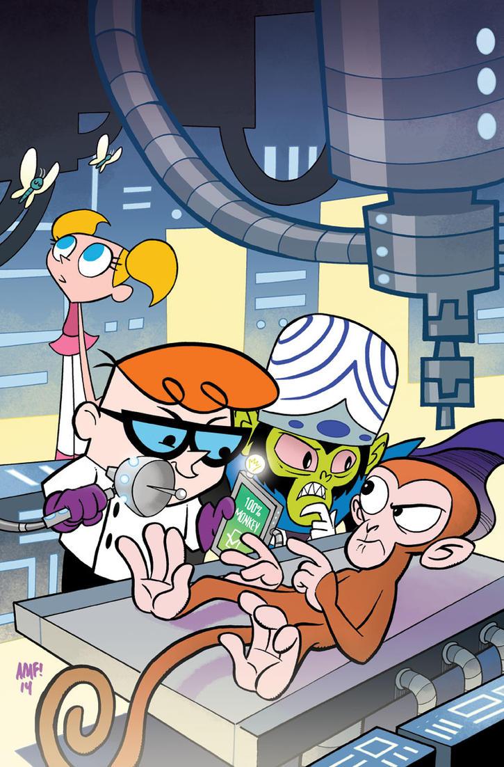 Dexter's Lab #4 Variant by TonyFleecs