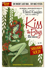 Poison Ivy Pulp Cover by TonyFleecs