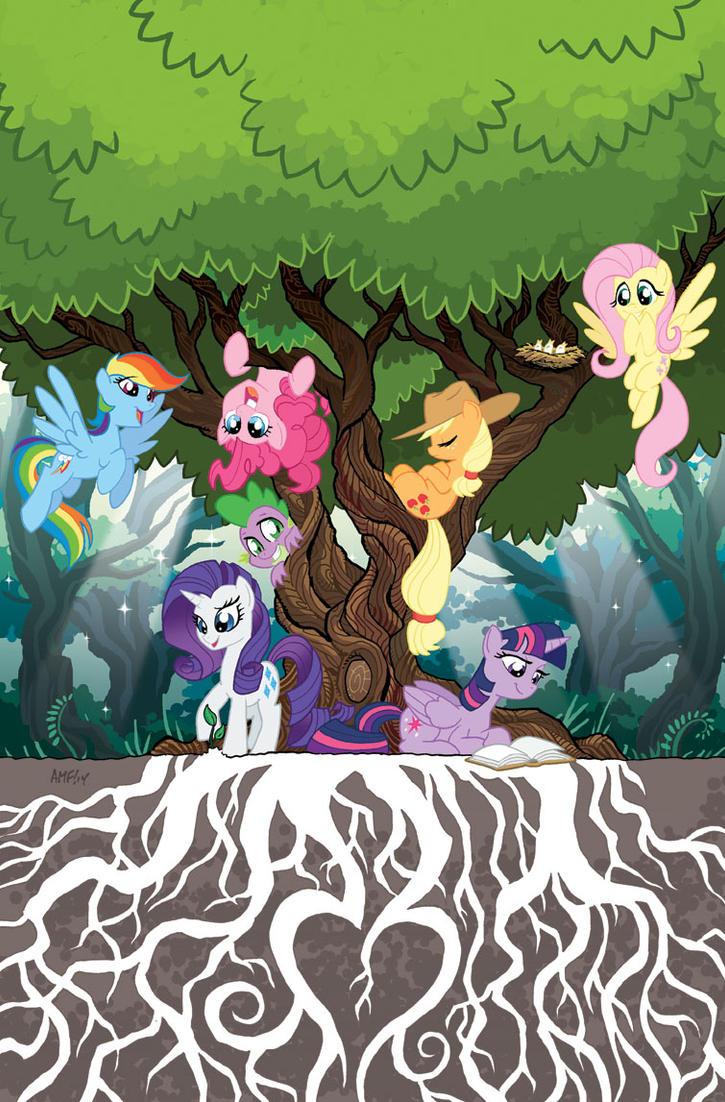 My Little Pony Friendship Is Magic #27 cvr by TonyFleecs