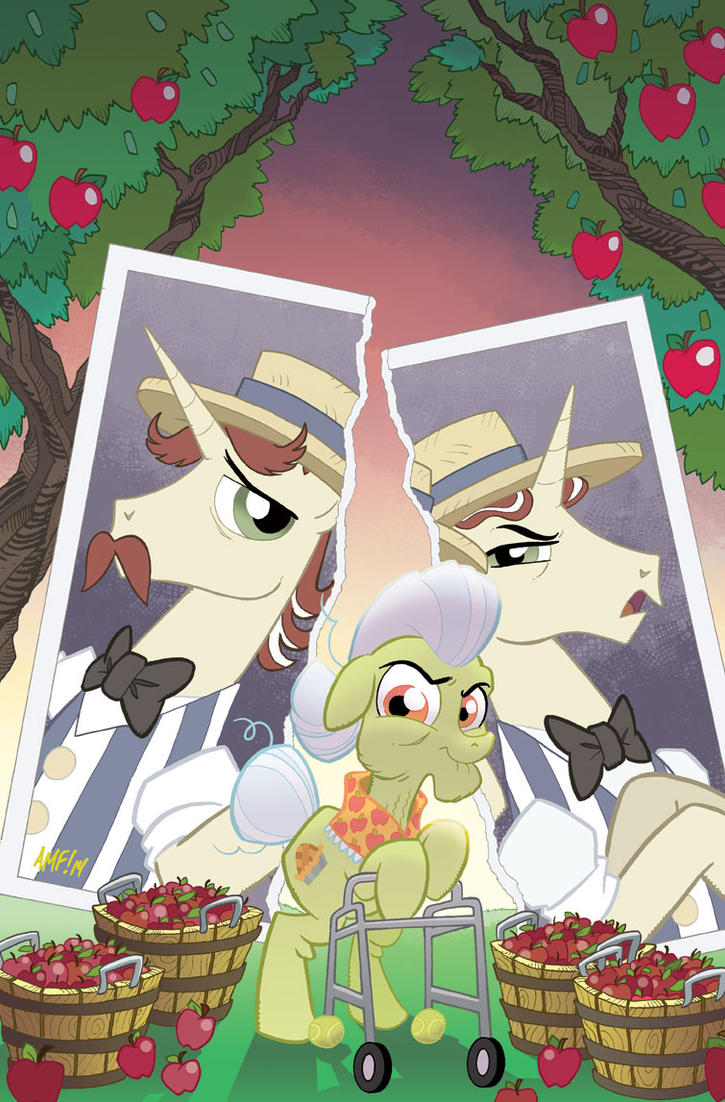 My Little Pony Friends Forever #9 cvr by TonyFleecs