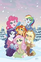 MLP Equestria Girls Holiday Special Hastings Cvr by TonyFleecs