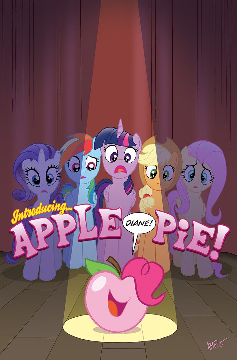 My Little Pony32 Comics World Varinant