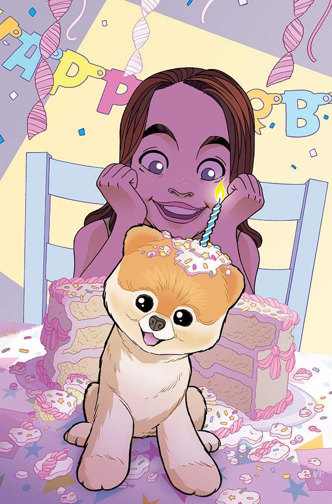 Boo the World's Cutest Dog #1 Cover by TonyFleecs