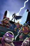 Batman/TMNT Adventures #1 Variant Cover