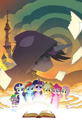 My Little Pony: Friendship is Magic #52 Cover by TonyFleecs