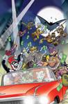 Batman/TMNT Adventures #2 Variant