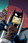 Batman/TMNT Adventures #4 Variant