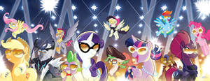 MLP The Movie Prequel 1-4 Covers