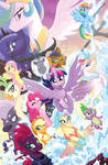MLP The Movie Prequel TPB Cover