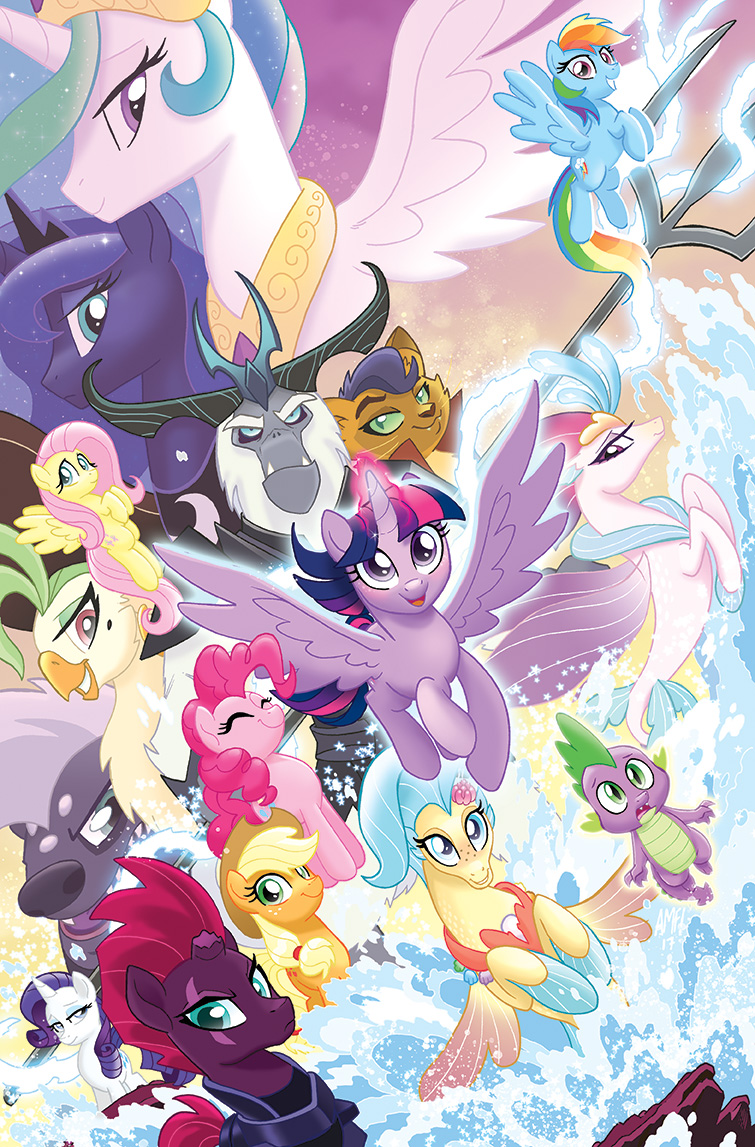 MLP The Movie Prequel TPB Cover by TonyFleecs